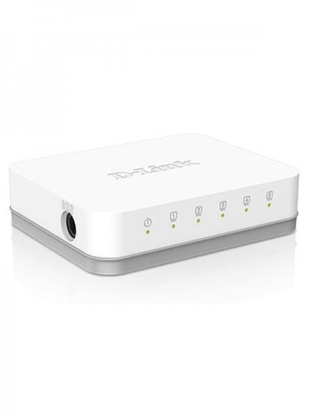 D-Link DES-1005A 5-Port 10/100 Switch, White