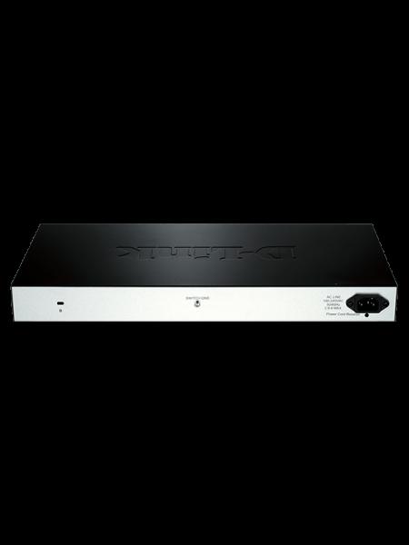 D-Link 28-Port PoE Fast Ethernet Smart Managed Swi