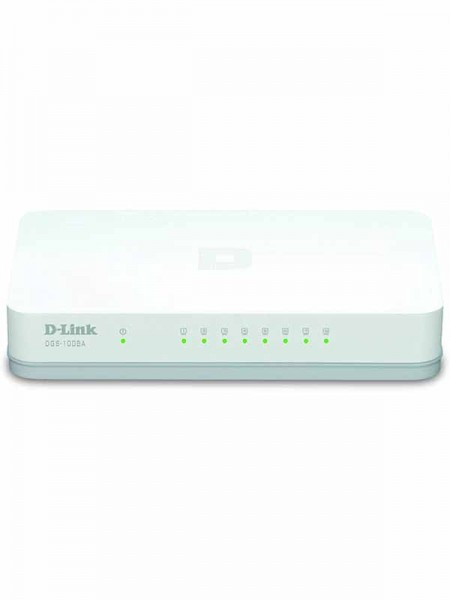 D-Link 8 Port Gigabit Easy Desktop Switch, DGS-100