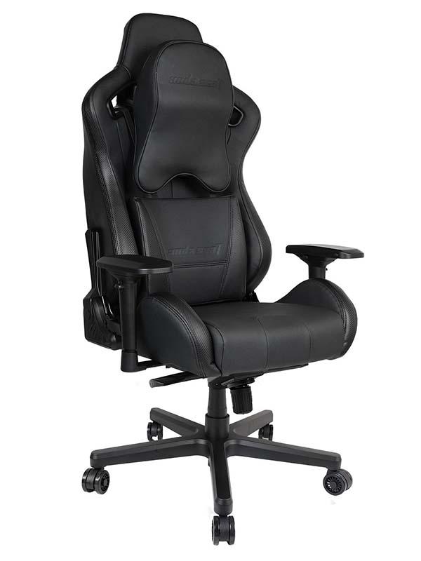 ANDA SEAT Dark Knight Premium Gaming Chair   AD12XL-DARK-B-PV/C-PRO