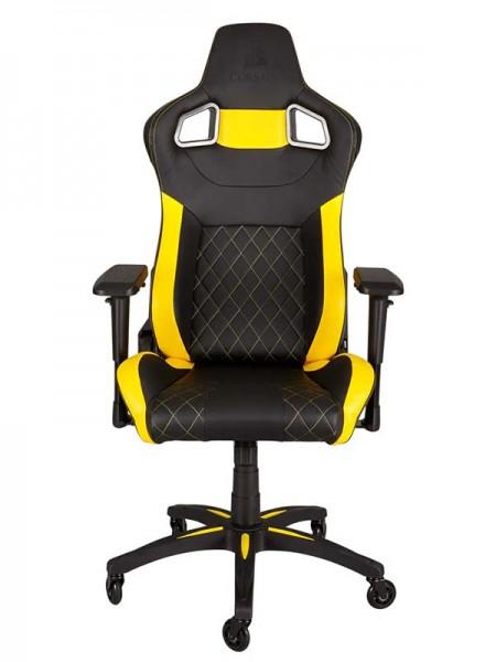 CORSAIR T1 RACE Gaming Chair — Black/Yellow | CF-9