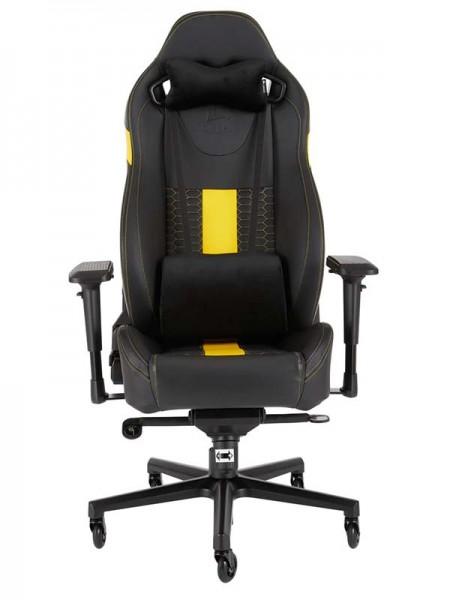 CORSAIR T2 ROAD WARRIOR Gaming Chair — Black/Yello