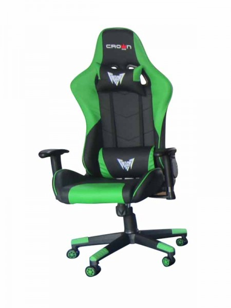 Crown CMGC-0914-G Gaming Chair, Green