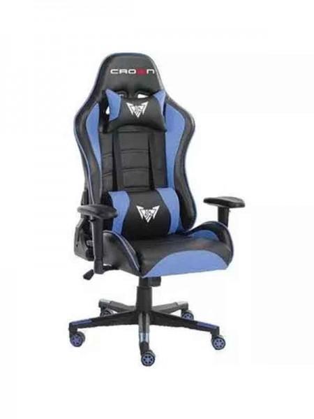 Crown CMGC-0914-B Gaming Chair, Blue
