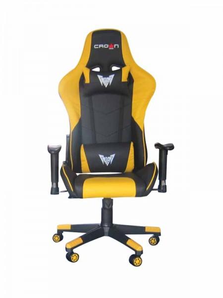 Crown CMGC-0914-Y Gaming Chair, Yellow