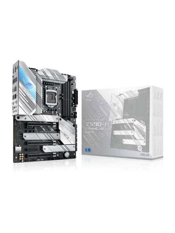 ASUS GT501 TUF White RGB FAN Gaming PC, Core i7-11700K, ASUS Z590-A Strix White, RTX 3080 (10GB DDR6), 32GB, 500GB SSD + 2TB HDD, 850W Strix White, CPU Cooler Asus ROG Strix LC360 RGB White, Windows 10 Pro (Trial) – 1 Year Warranty