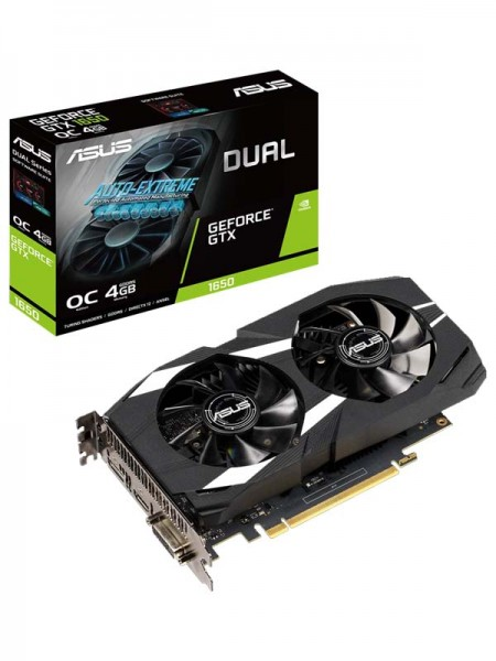 ASUS Dual GeForceR GTX 1650S Super Edition 4GB GDD