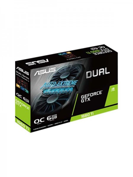 ASUS Dual GeForceR GTX 1660S Super Edition, 6GB GD