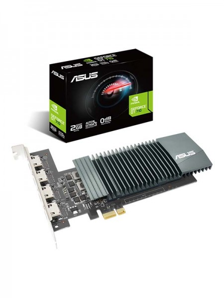 ASUS GeForce GT710-4H-SL-2GD5 Graphics Card with 4