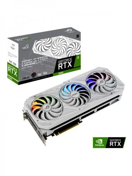 ASUS ROG Strix GeForce RTX™ 3080 V2 White OC Editi