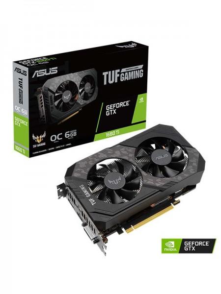 ASUS TUF Gaming GeForce® GTX 1660 Ti EVO 6GB (GDDR
