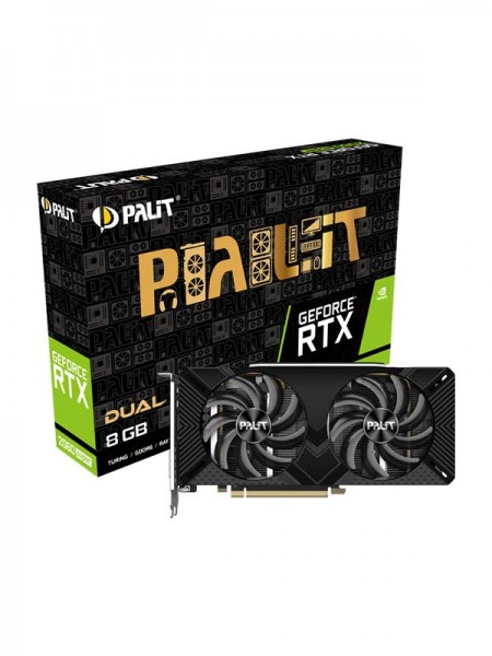 PALIT GeForce RTX 2060 8GB Super Dual, 192bit,1365