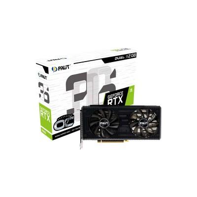 PALIT GeForce RTX 3060 12GB Dual OC, 192bit, 1320