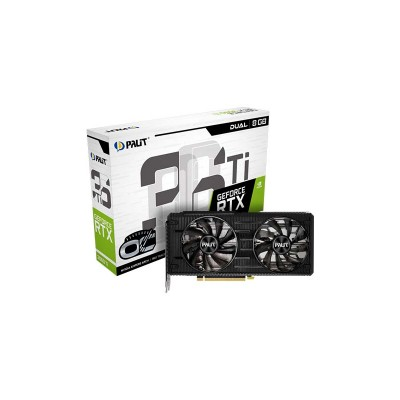 PALIT GeForce RTX™ 3060 Ti Dual OC | NE6306TS19P2-