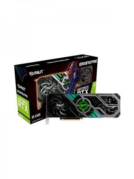 PALIT GeForce RTX 3070 8GB GamingPro, 256bit, 1500