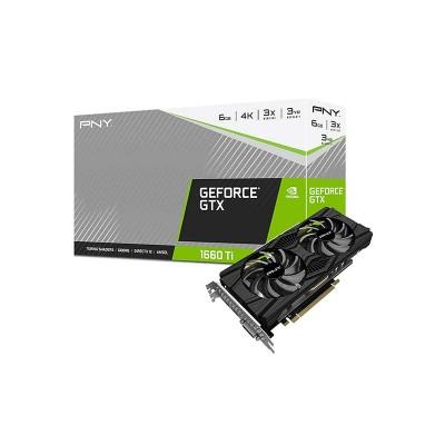 PNY GeForce GTX 1660 Ti Dual Fan Graphics Card   V