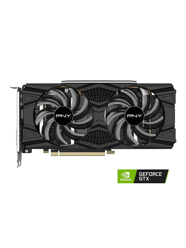 PNY GeForce GTX 1660 Ti Dual Fan Graphics Card | VCG1660T6DFPPB
