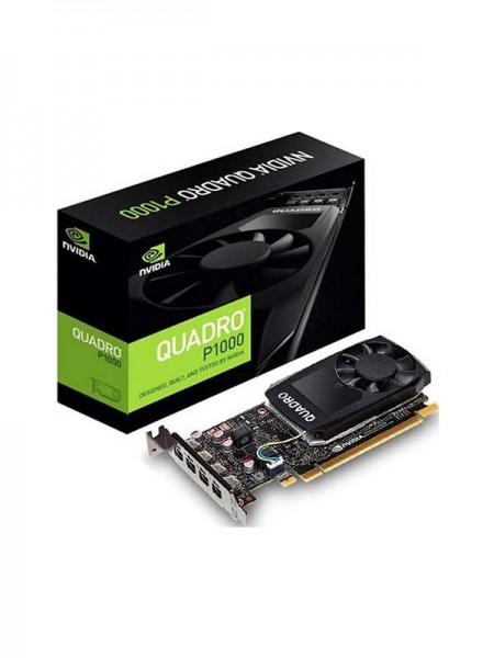 PNY NVIDIA Quadro P1000, 4GB GDDR5, 128-bit | VCQP