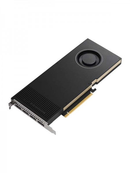 PNY NVIDIA RTX A4000, 16GB GDDR6 with ECC, 256 bit