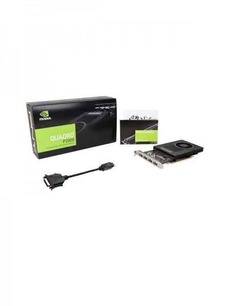 PNY QUADRO P2000 5GB GDDR5, 160-bit | VCQP2000-PB