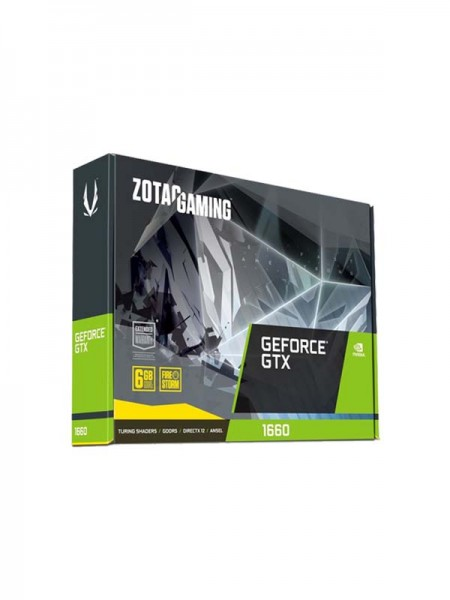 ZOTAC Gaming GeForce GTX 1660 Twin Fan 6GB GDDR5 |