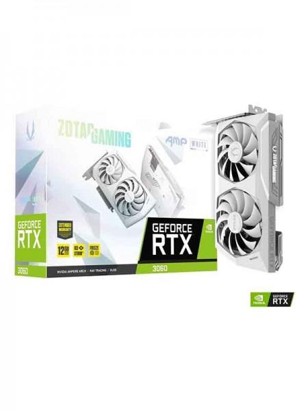 Zotac Gaming GeForce RTX 3060 AMP 12 GB GDDR6 Whit