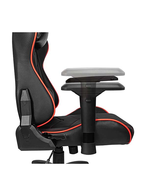 MSI MAG CH120 X Multi-Adjustable Gaming Chair, Black & Red