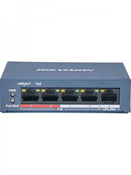 HIK VISION DS-3E0105P-E 4 Port Fast Ethernet Unman