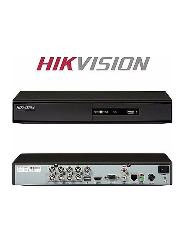 HIK VISION 4-Channel HD 1080 Lite DVR Up to 5MP,  DS-7204HGHI-F1