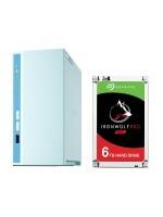QNAP TS-230 2GB 2BAY + HDD SATA 6TB SEAGATE IRON WOLF Combo Pack