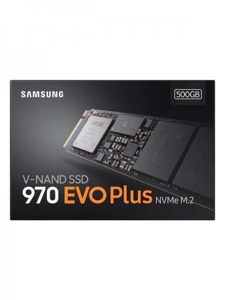 SAMSUNG MZ-V7S500 970 EVO Plus, 500GB M.2 SSD | MZ