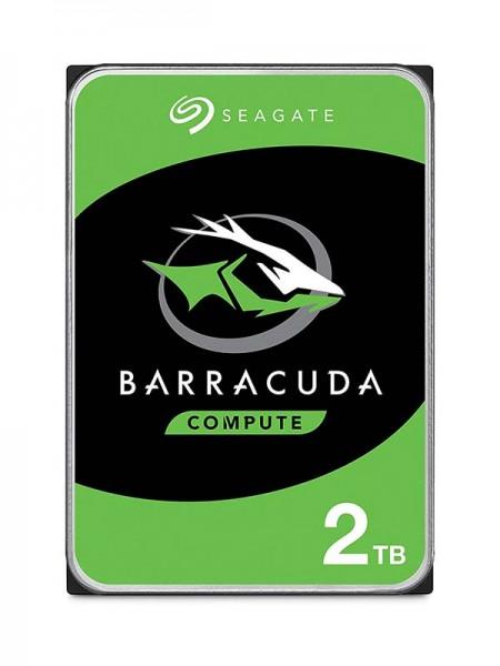SEAGATE 2TB Barracuda HDD, 7200rpm SATA 6Gb/s 256M