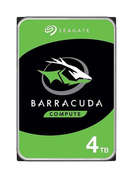 SEAGATE 4TB Barracuda HDD, 7200rpm SATA 6Gb/s 256M
