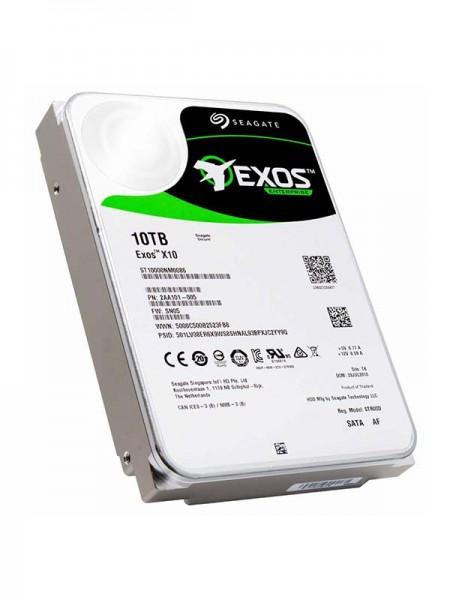 SEAGATE Exos X10 10TB, 512e SATA, 6Gb/s, 7200 RPM,