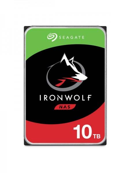 SEAGATE IronWolf 10TB NAS HDD, 7200rpm SATA, 6Gb/s