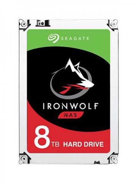 SEAGATE IronWolf 8TB NAS HDD, 7200rpm 256MB Cache
