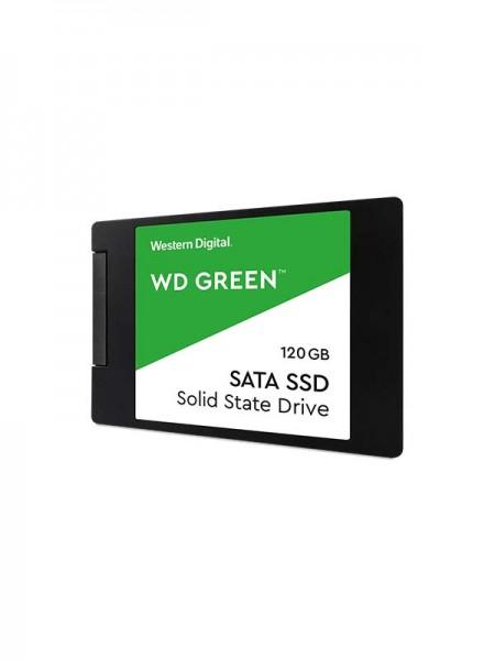 WD 120GB Green 3D NAND PC SSD - SATA III 6 Gb/s 2.