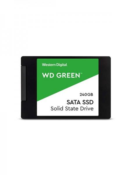 WD 240GB Green 3D NAND PC SSD - SATA III 6 Gb/s 2.