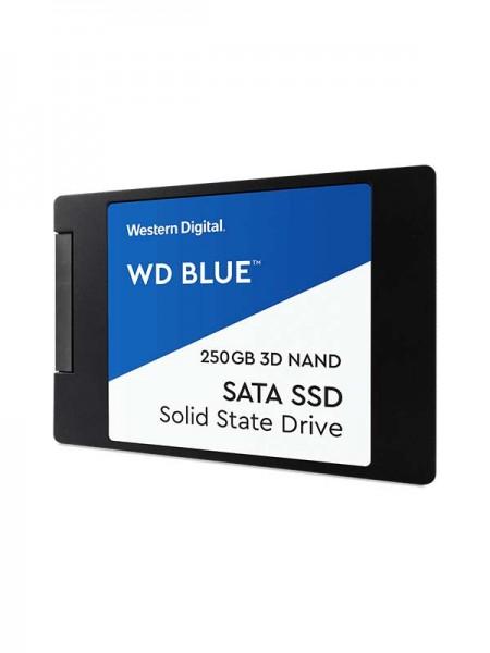 WD 250GB Blue 3D NAND PC SSD - SATA III 6 Gb/s 2.5