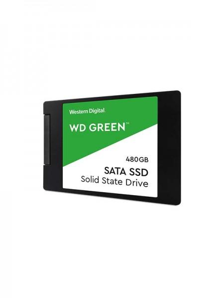 WD 480GB Green 3D NAND PC SSD - SATA III 6 Gb/s 2.