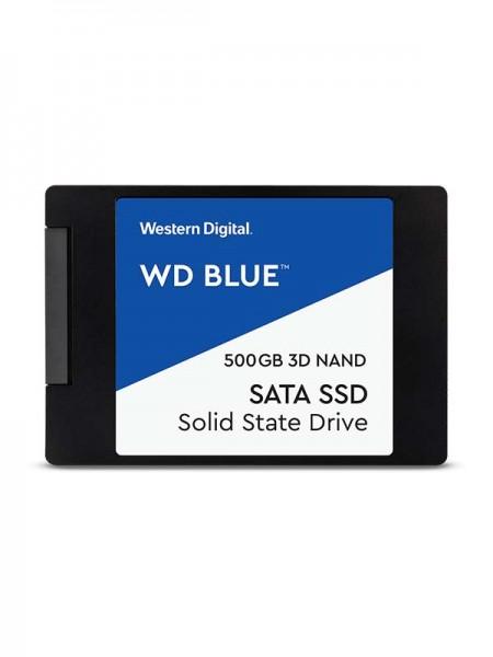 WD 500GB Blue 3D NAND PC SSD - SATA III 6 Gb/s 2.5