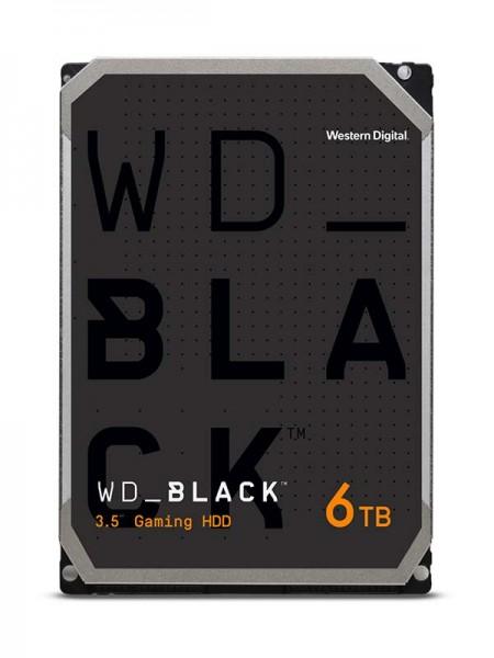 WD Black 6TB HDD, 7200rpm SATA 6Gb/s 256MB Cache 3