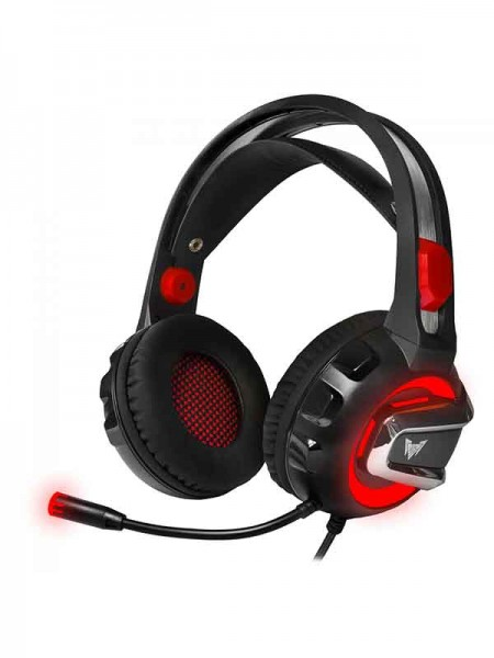 Crown Gaming Headset CMGH-3000, Black & Red