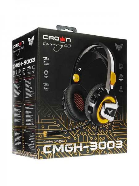 Crown Gaming Headset CMGH-3003, Black & Orange
