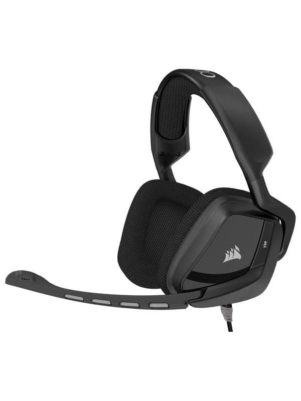CORSAIR VOID Surround Hybrid Stereo Gaming Headset with Dolby 7.1 USB Adapter - Carbon (EU) | CA-9011146-EU