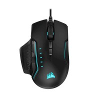 CORSAIR GLAIVE RGB PRO Gaming Mouse — Black | CH-9