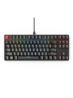 GLORIOUS GMMK-TKL-RGB Modular Mechanical Gaming Keyboard, Tenkeyless TKL (87 Key), RGB LED Backlit, Brown Switches, Hot Swap Switches, Black | GMMK-TKL-RGB