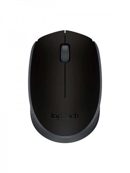 LOGITECH M171 Wireless Mouse, 2.4 GHz with USB Min