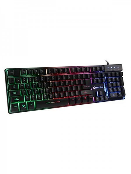 MEETION K9300 Gaming Keyboard Wired Colorful Rainb