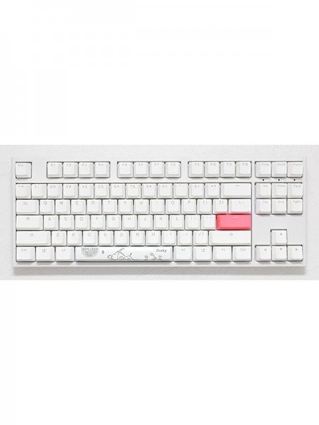 Ducky ONE 2 TKL WHITE & Brown Switch  Gaming K
